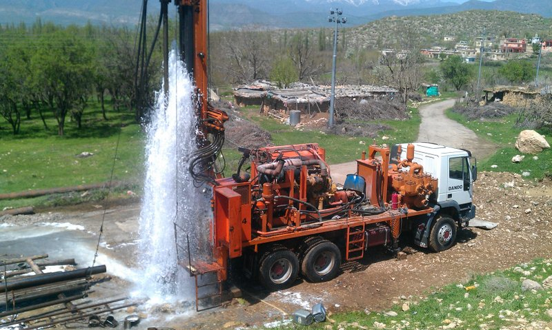 Image result for Water well drilling